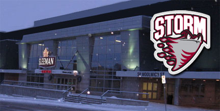 Guelph Storm Home Ice - Sleeman Centre on Guelph Now