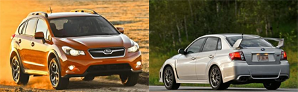 Subaru Top Safety Pick & Award Winners