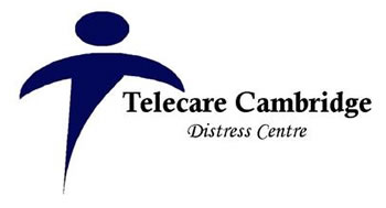 Telecare Cambridge Distress Centre logo